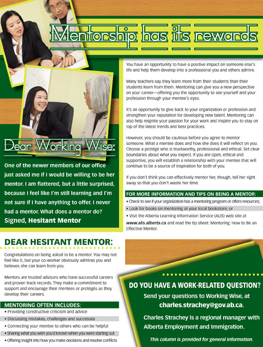 Working Wise article design