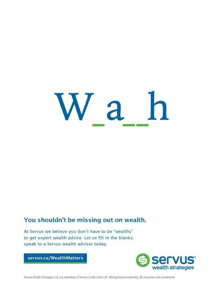 Wealth Deposit fall campaign